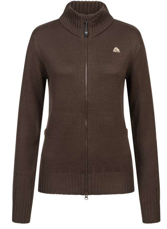Nike ACG Ohzone Damen Strickjacke in Braun für 32,44€ inkl. Versand (statt 50€)