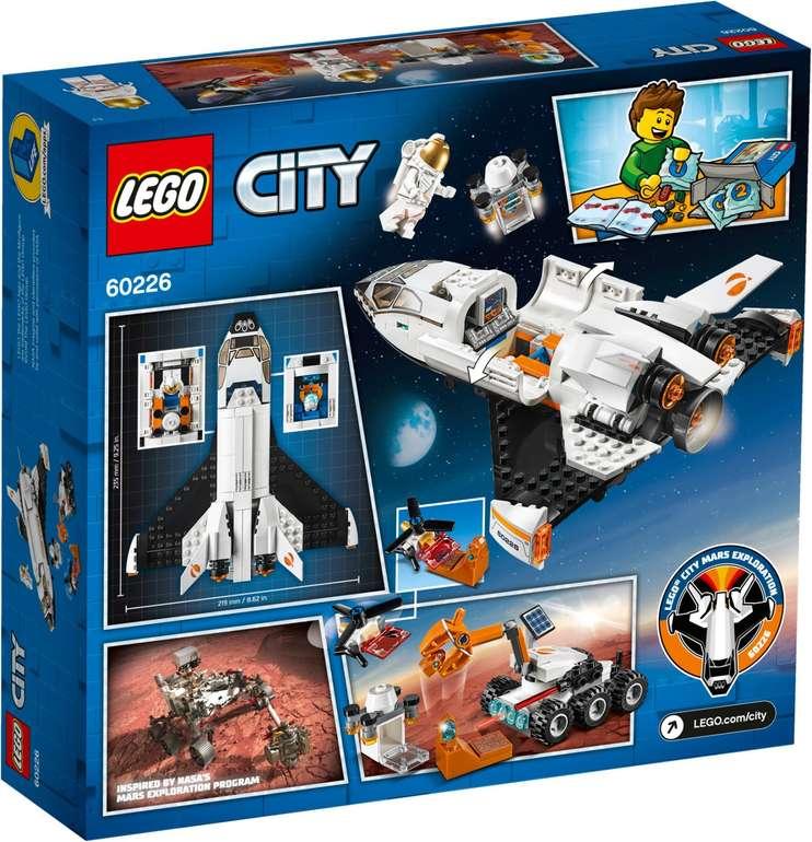 Lego City Mars-Forschungsshuttle (60226) für 21,99€ inkl. Versand (statt 27€) - KultClub!
