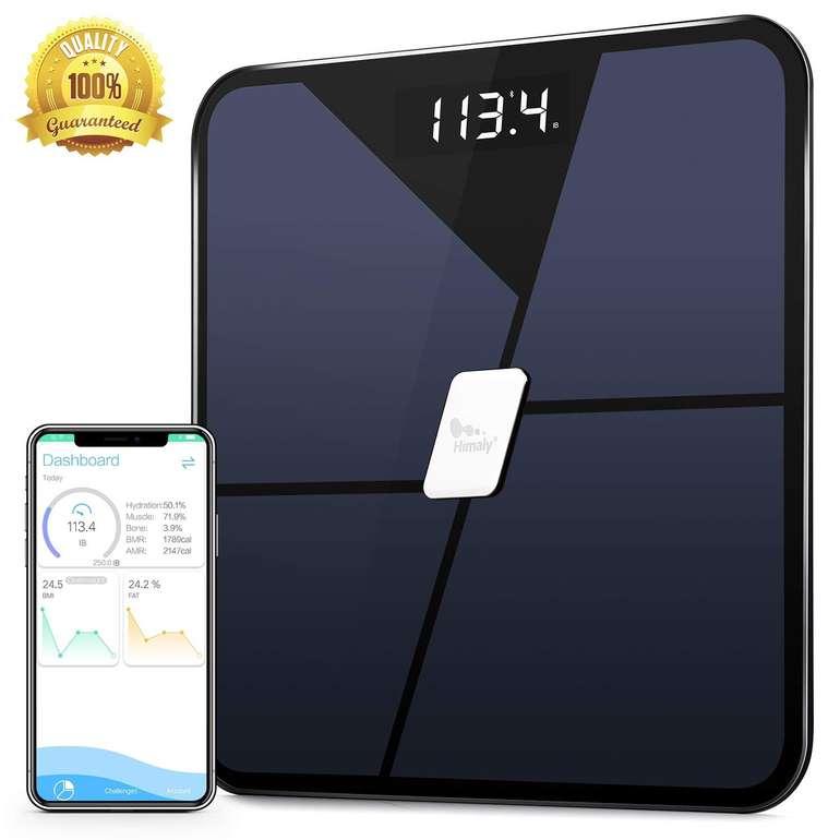 Himaly digitale Personenwaage mit Bluetooth & App für 17,99€ inkl. Versand (statt 27€)