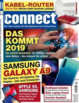 """Jahresabo der Zeitschrift """"connect"""" für 75,60€ + 50€ BestChoice-Gutschein"""