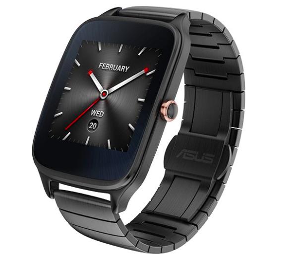 ASUS ZenWatch 2 Smart Watch Metall grau für 99€ inkl. Versand