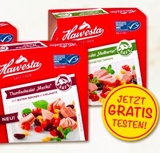 Geld zurück Garantie: Hawesta Thunfisch gratis testen