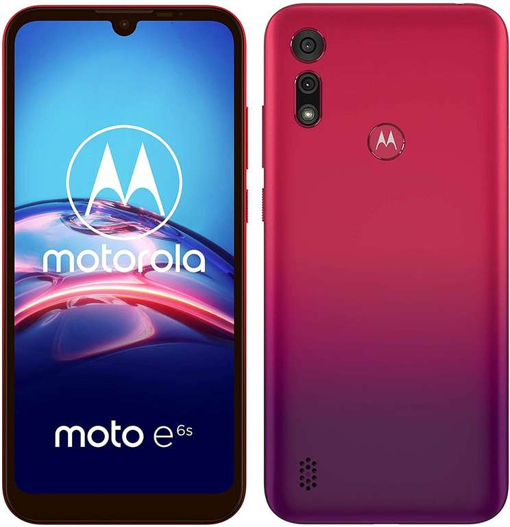 "Motorola moto e6s Dual-SIM - 6,1"" Smartphone (13-MP-Hauptkamera, 32 GB/2 GB, Android 9) für 74,70€ inkl. Versand (statt 97€)"
