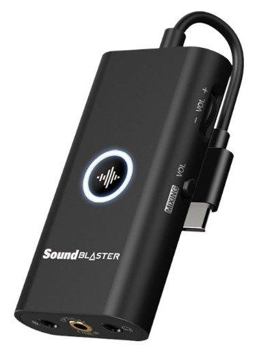 Sound Blaster G3 USB-C DAC-Verstärker (PlayStation 4, Switch, PC, Mac) für 49,99€ inkl. Versand (statt 60€)