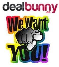 dealbunny.de sucht dich! - Online-Redakteur (m/w) in Vollzeit/Teilzeit gesucht!