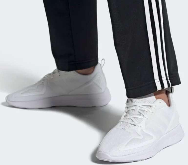 "adidas ZX 2K Flux Herren Sneaker in ""Cloud White / Cloud White / Grey One"" für 48,98€inkl. Versand (statt 70€)"