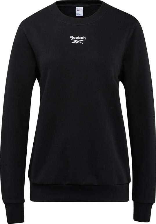 Reebok Damen Sweatshirt in Schwarz für 27,45€ inkl. Versand (statt 33€)