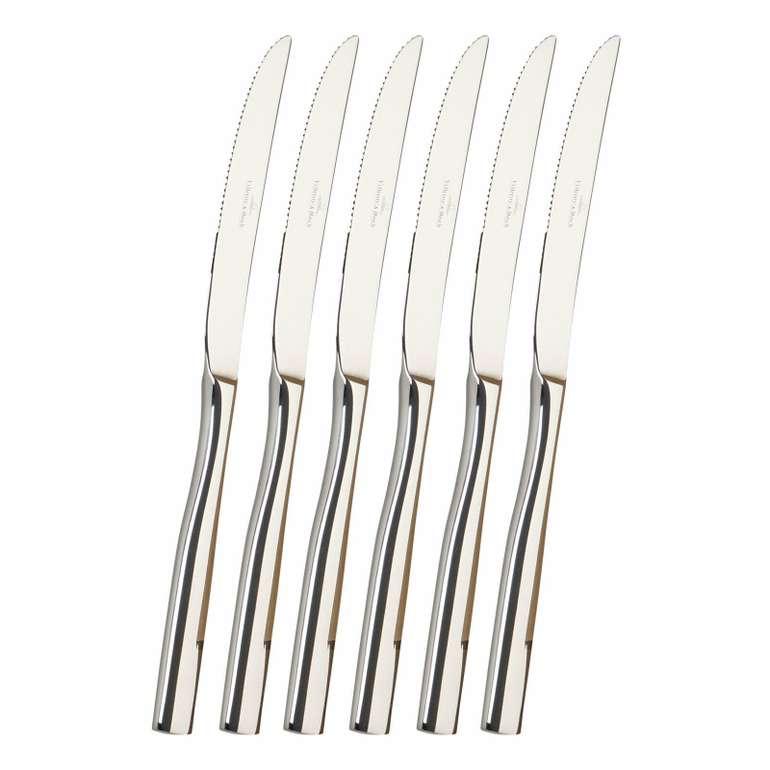 6-tlg. Villeroy & Boch Piemont Steakmesser für 19,99€ inkl. Versand (statt 52€)