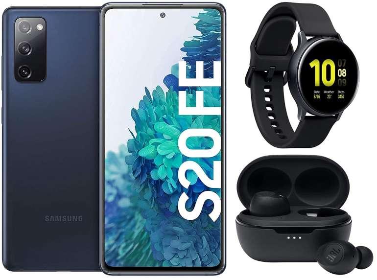 Samsung Galaxy S20 FE (4,99€) + Galaxy Watch Active2 + JBL Tune 115TWS + Congstar AllNet Flat (12 GB LTE) für 30€ mtl.