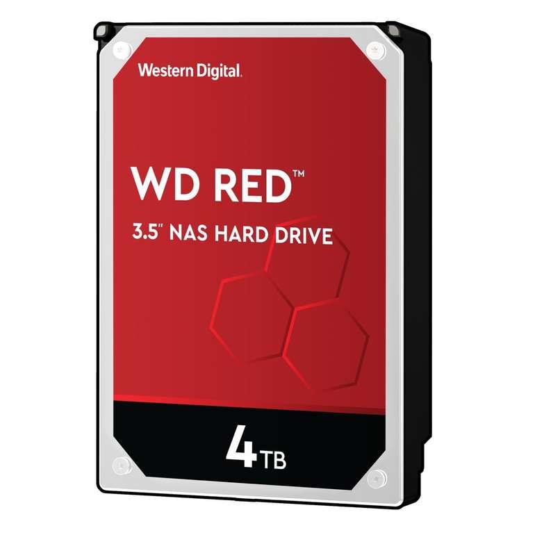 Interne Western Digital Red WD40EFRX 3,5-Zoll-Festplatte mit 4TB für 99€