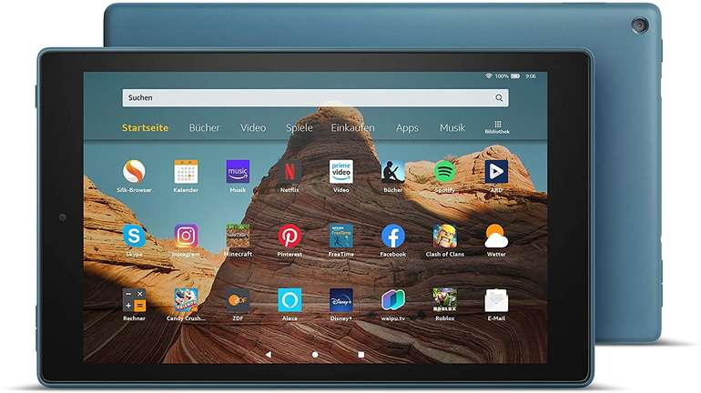 Fire HD 10-Tablet mit 32GB (Zertifiziert und generalüberholt) für 78,95€ (statt neu 140€) - Prime!