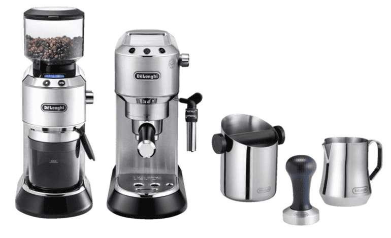 DeLonghi EC 685 Dedica Style Barista Bundle: Espressomaschine & Kaffeemühle inkl. Zubehör für 269€
