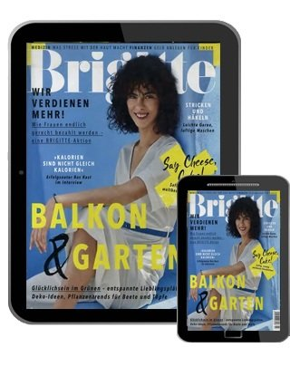 Brigitte Jahresabo als E-Paper für 50,12€ + 50€ Verrechnungsscheck
