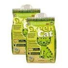 2 x 24l Green Cat Naturklump-Katzenstreu für 12,99€ inkl. VSK