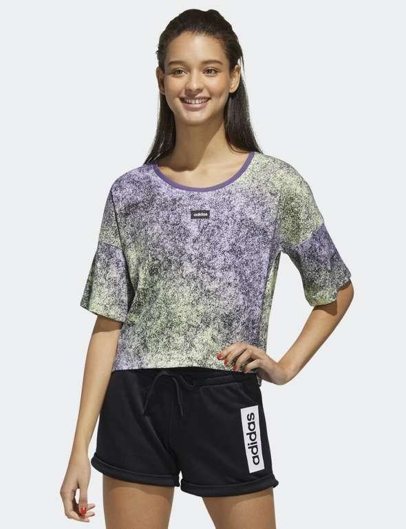 Adidas Moment Cropped Damen T-Shirt für 14,30€ inkl. Versand (statt 22€) - Creators Club