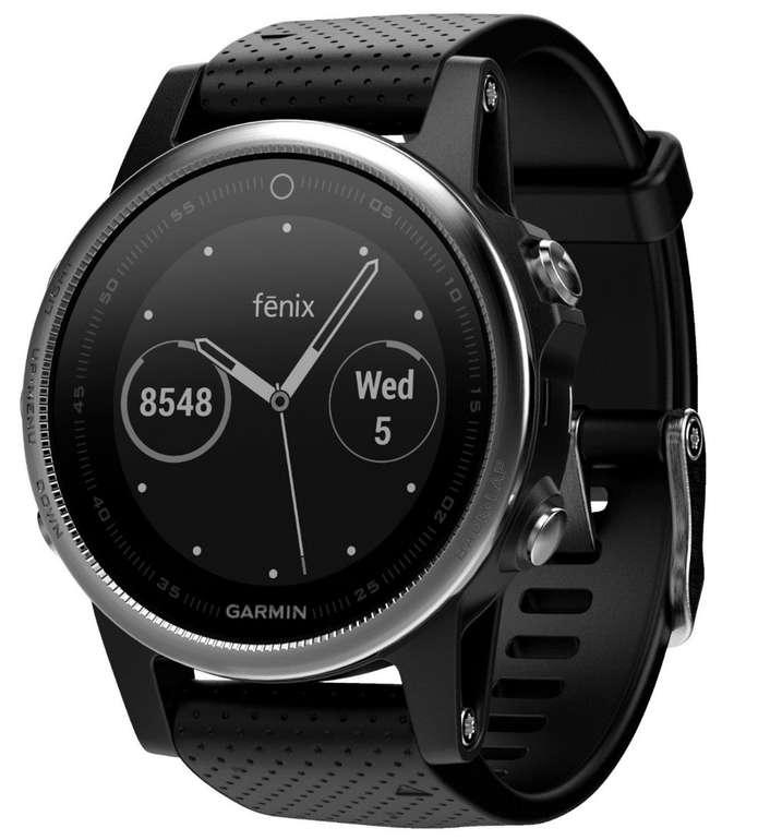 Garmin fenix 5S GPS-Multisport-Smartwatch für 302,99€ (statt 346€)