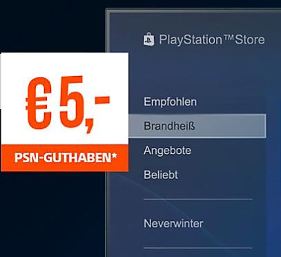 Gratis: 5€ PSN Guthaben kostenlos bekommen für eine Newsletter Anmeldung