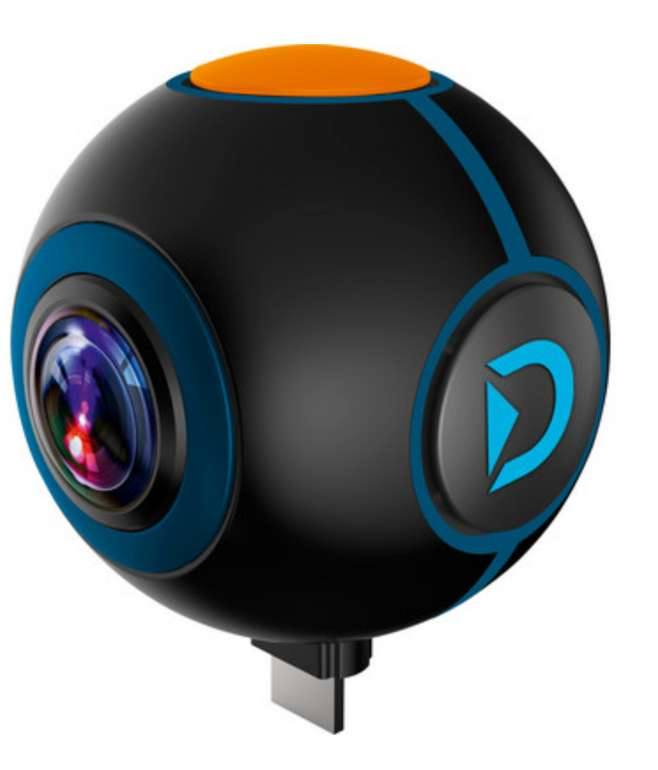 Discovery Adventures Androud Action-Spy-Cam (720°) für 35,90€inkl. Versand (statt 80€)