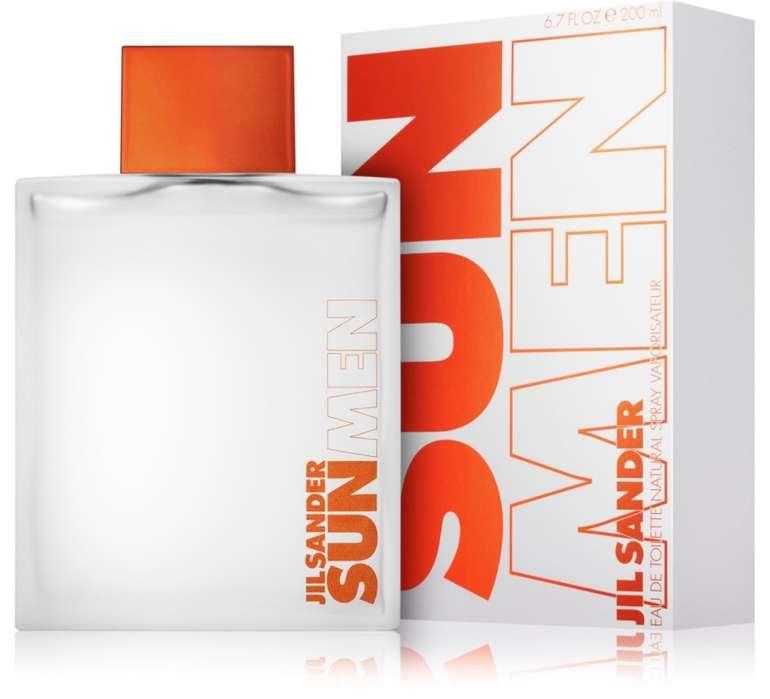 200ml Jil Sander Sun for Men - Eau de Toilette für 26,90€ inkl. Versand (statt 32€)