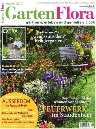 Jahresabo der GartenFlora mit 12 Ausgaben für 9,90€