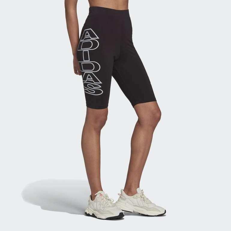 Adidas Originals Mid-Waist Letter Damen Radlerhose in 2 Farben für je 24,50€ (statt 35€) - Creators Club