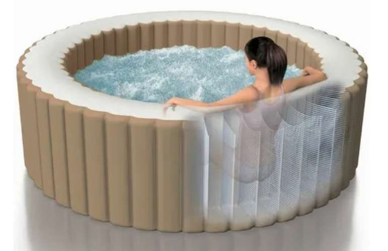 """ManoMano: Zeit für Erfrischung mit bis zu -50% Rabatt - z.B  Intex Whirlpool """"Pure Spa Bubble Massage"""" Ø 196 x 71 cm für 549€"""