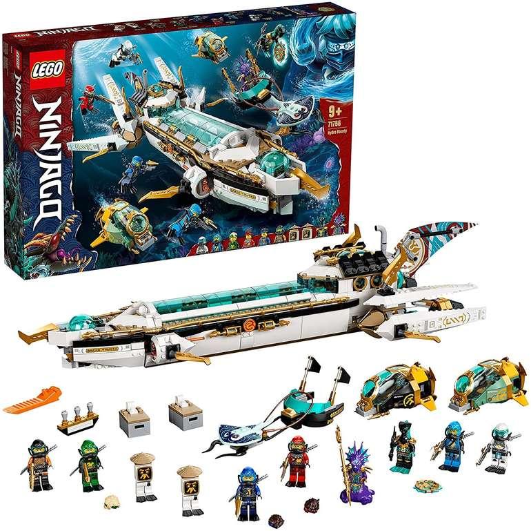 Lego Ninjago Wassersegler (71756) für 89,90€ inkl. Versand (statt 108€)