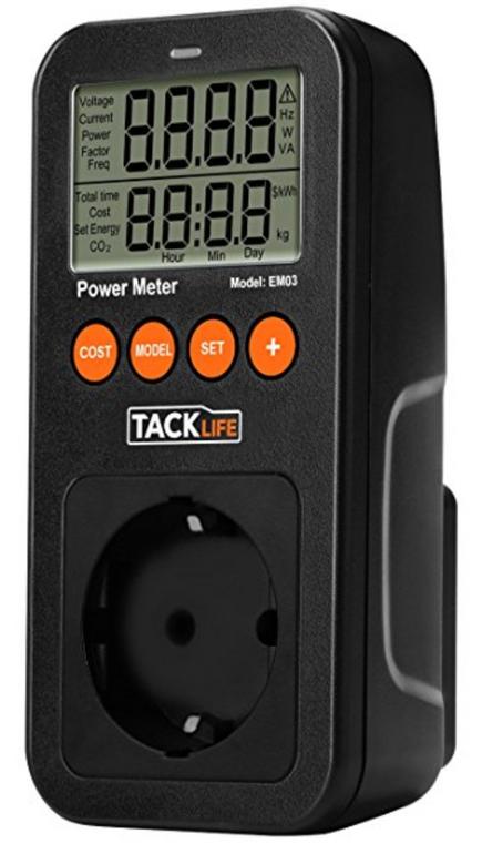 Tacklife EM03 Energiekostenmessgerät für 3,99€ inkl. Versand (Prime)