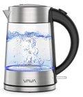 VAVA - 1,7 Liter Wasserkocher aus Glas mit LED Beleuchtung für 28,99€