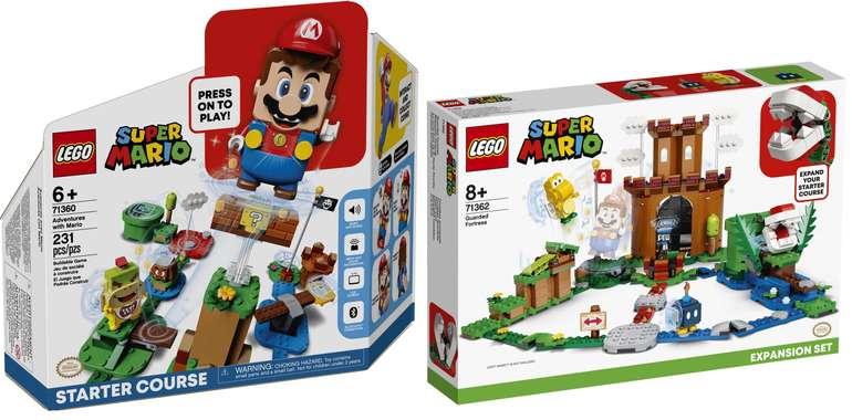 Lego Super Mario Bundle  - 71360 Abenteuer mit Mario + 71362 Bewachte Festung für 67,99€ inkl. Versand