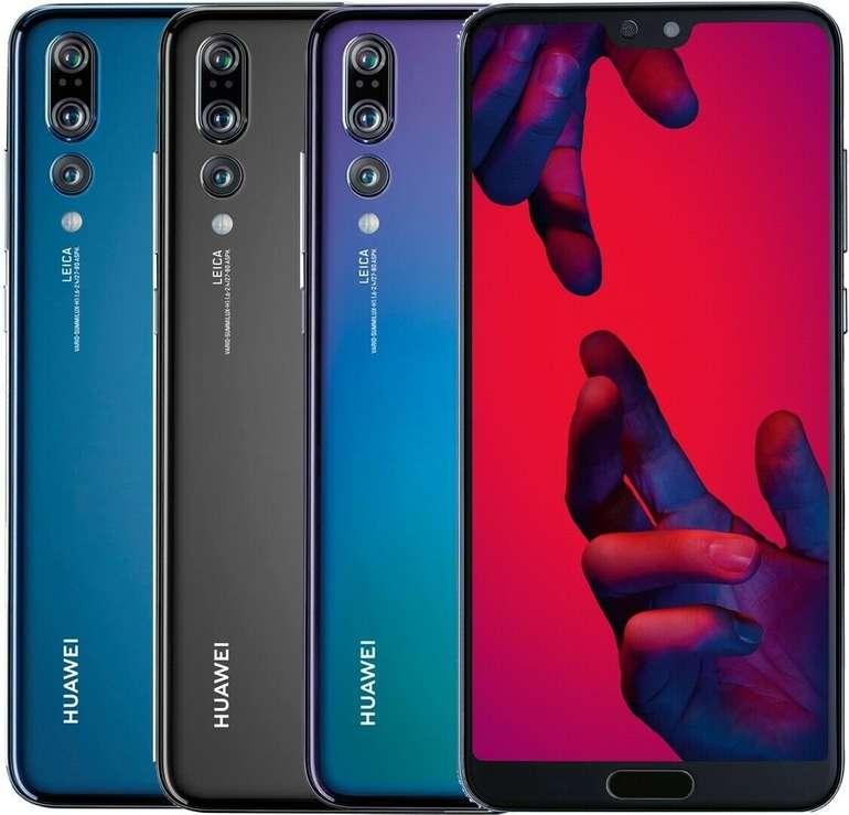 Huawei P20 Pro - 6,1 Zoll DualSim Smartphone mit 128GB Speicher für 299,90€ (Ausstellungsstücke)