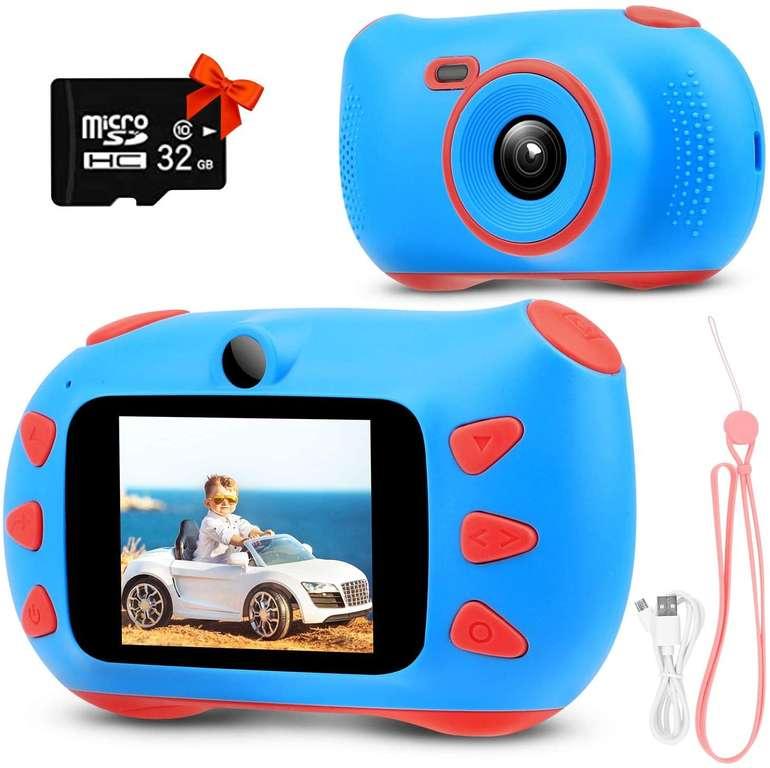 Rumia Kinder 20MP Digitalkamera inkl. Speicherkarte für 23,39€ inkl. Versand (statt 39€)