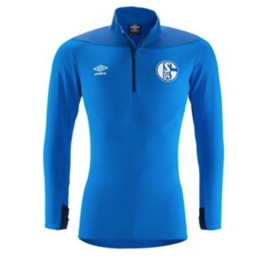Umbro FC Schalke 04 Herren Half Zip Shirt (Trainingsshirt 18/19) für je 22,22€ (statt 29€)