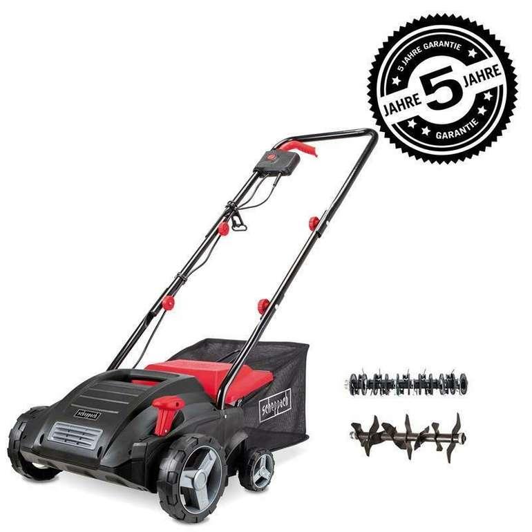 Scheppach SC32 Elektro Vertikutierer 32cm Arbeitsbreite für 71,91€ (statt 85€)