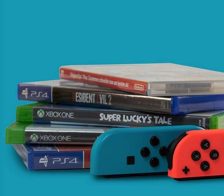15% Rabatt auf alle gebrauchten Games bei reBuy (ohne Mindestbestellwert)