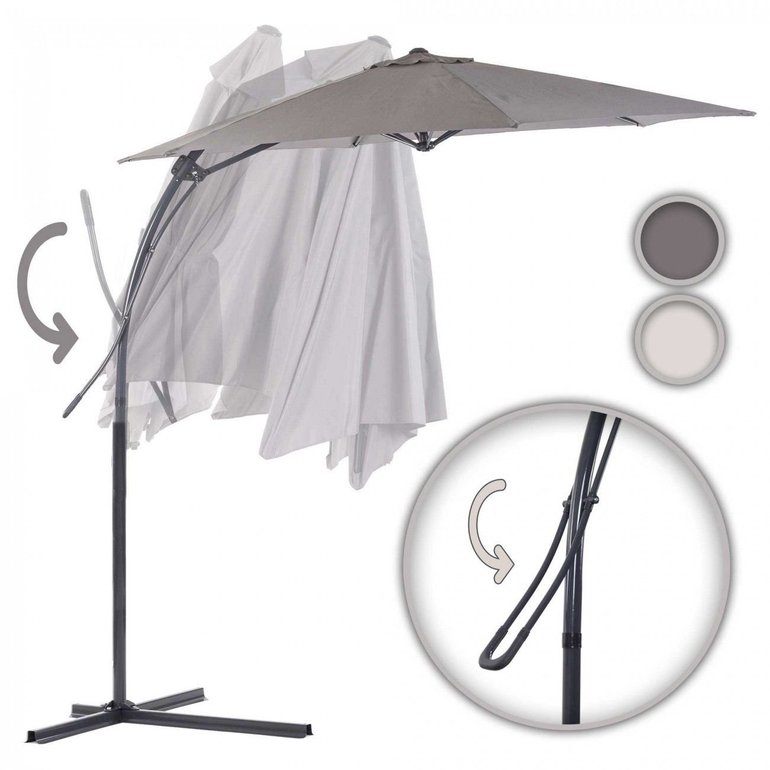 Strattore Sonnen- bzw. Ampelschirm mit Hebelmechanik für 49,99€