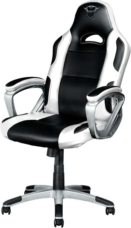 Trust GXT 705W Gaming Stuhl in Weiß/Schwarz für 121,39€ inkl. Versand (statt 144€)
