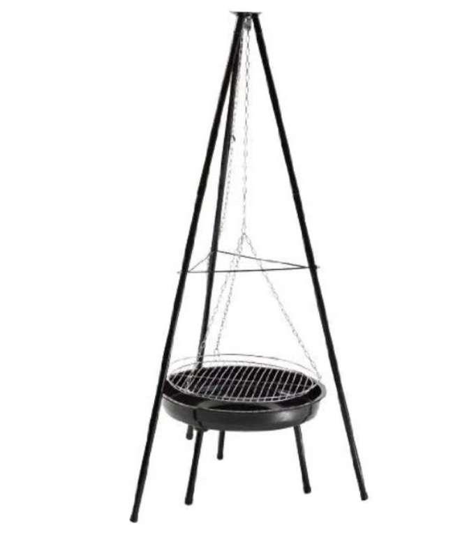 Landmann Grillchef 150cm Dreibein Holzkohle Schwenkgrill mit Feuerschale für 29,99€ (statt 40€)