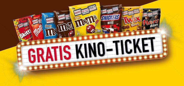 M&M's Kino-Ticket