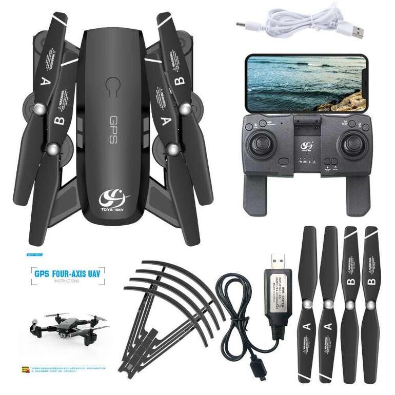 CSJ S166GPS Drohne (1080P-HD Kamera, Gestensteuerung) + 1 Batterie für 49,99€ inkl. Versand (statt 60€)