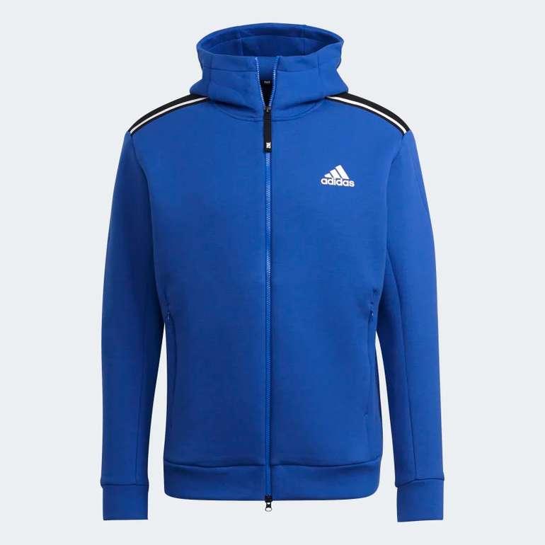 Adidas Sportswear Z.N.E. Herren Hoodie in Blau für 70€ inkl. Versand (statt 95€)