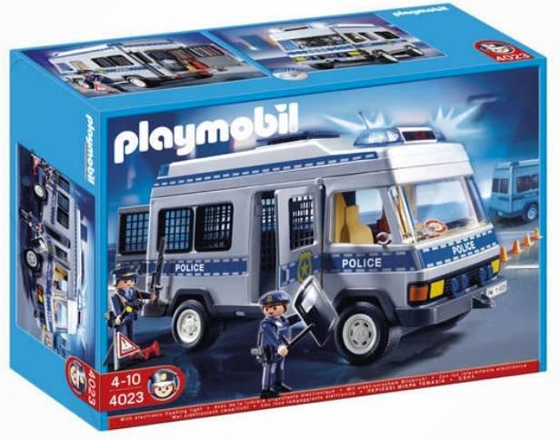 playmobil polizei mannschaftswagen (4023) für 20,99€ zzgl.…