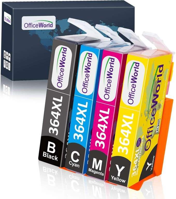 OfficeWorld kompatible Ersatz Druckerpatronen HP 364XL für 3,94€ inkl. Prime Versand (statt 8€)