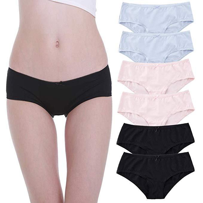 6er Pack Falechay Damen Baumwoll Slips für 6,74€ inkl. Prime Versand (statt 15€)