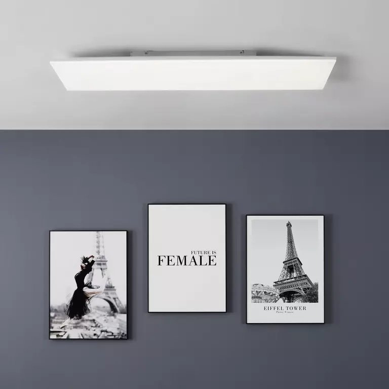 Premium Living LED-Deckenleuchte Ramski (max. 30 Watt, 120 x 30 x 8 cm) für 64,95€ inkl. Versand (statt 130€)