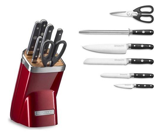 KitchenAid 7-teiliger Messerblock