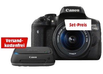 Media Markt Foto-Nacht mit Canon EOS 750D Bundle für 699€ inkl. Versand