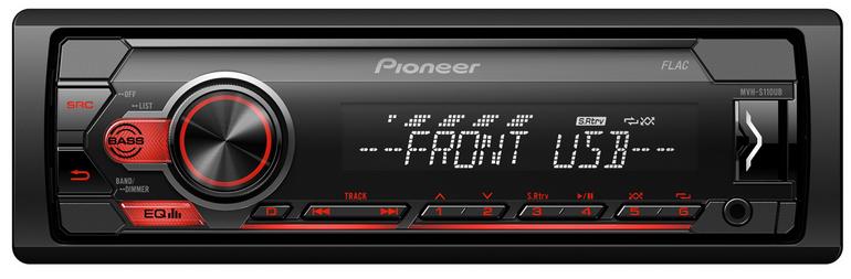 Pioneer MVH-S110UB 1DIN Autoradio mit RDS für 34,89€ inkl. Versand (statt 43€)