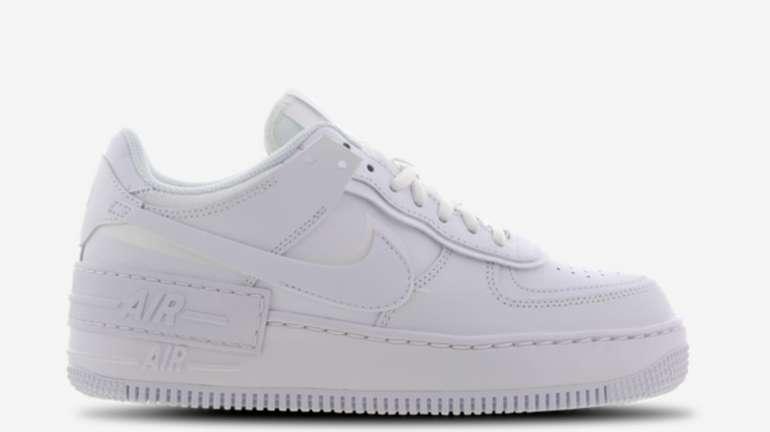 Nike Air Force 1 Shadow Damen Sneaker in Weiß für 95,99€inkl. Versand (statt 110€)