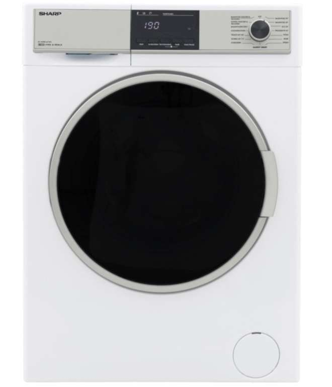 Sharp ES-HDB8147W0-DE Waschtrockner (8 kg/6 kg, 1400 U/Min., A) für 489€ inkl. Versand (statt 539€)
